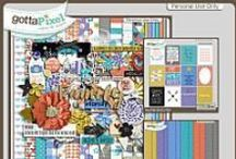 {Being A Family} Digital Scrapbook Kit by Pixelily Designs