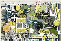 {Boy Meets World} Digital Scrapbook Collection by Pixelily Designs