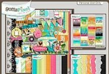 {Pack and Go} Digital Scrapbook Collection by Pixelily Designs