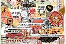 {Life Is Good} Digital Scrapbook Kit by Pixelily Designs
