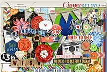 {A Wish Comes True} Digital Scrapbook Kit by Pixelily Designs