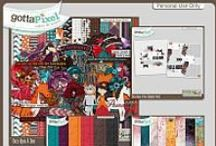 {Once Upon A Time} Digital Scrapbooking Collection by Pixelily Designs