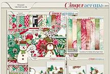{Countdown to Holiday} Digital Scrapbooking Collection by Pixelily Designs