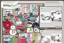 {It's Cold Outside} Digital Scrapbook Collection by Pixelily Designs
