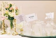 | table plans escort cards | / Chic and Stylish ideas on how to create dynamic and beautiful table plans and escort cards for your wedding day.