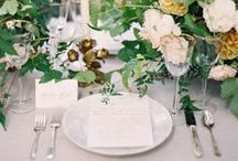 | table settings | / Exquisite and beautiful table settings for any event. Take inspiration for your own intimate soirees.
