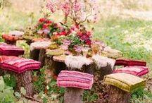 Fairytale Settings | Sprookjesachtige tafreeltjes / Faries, Gnomes, Toadstools and everyting for a fairytale setting | Feeën, Kabouters en alles met een sprookjesachtige sfeer