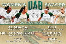 Men's and Women's Soccer / by UAB Athletics