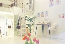 Inside our studio
