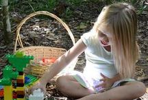 OUTDOOR PLAY IDEAS / Outdoor activities and inspiration to get your kids outside.