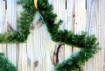 NATURE CHRISTMAS DECOR /  Nature  and natural decoration ideas and craft ideas for Christmas