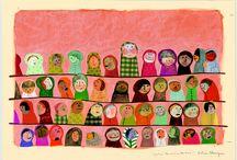 Ilustração*Ilustration / by Eunícia Fernandes