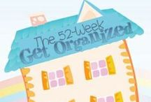 Organized Homeschool / Keep your homeschool organized by joining the 52-week Homeschool Challenge with printable calendars, and 15-minute daily missions for getting your home and school organized. / by Dr. Melanie Wilson @psychowith6