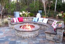 Backyard Ideas and Stone Patios / Creative Ideas for making the perfect backyard