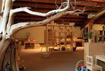 NATURE ROOM IDEAS / Bring nature inside your kids room with real nature or pieces inspired by nature. Here's some ideas!
