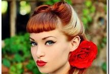 Rockabilly/50ies/Retro Hairstyles / Gorgeous hairstyles for Girls that rock...Rockabilly's; and other vintage/retro styles