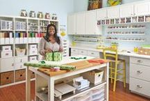 Craft rooms / by Lynn Weinberg