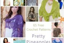 Crochet scarfs cowls and wraps / by Maggi Thrasher Burns