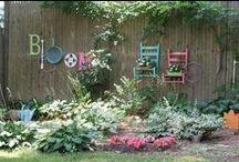South of France Garden / Garden ideas for the South of France .. low maintenance , original ideas..