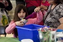 Bramalea City Centre - Flower Power Event / On Saturday, March 14, Bramalea City Centre hosted series of special  events designed to inspire Bramptonians to clean up their yards and, in turn, their community, in the aftermath of this winter's destructive ice storm.