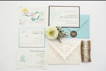 Five Dot Design {Wedding Row Kentucky Preferred Vendor} / A boutique design studio based out of Newport, Kentucky - minutes from downtown Cincinnati. Five Dot Design specializes in custom wedding invitations and social stationery.