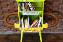 Little Free Library / The Little Free Library movement started in 2009 in Wisconsin. Take a book, leave a book, and share with your community! / by Marathon County Public Library