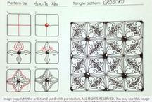Zentangle! / Let's Zentangle! Zentangle is an easy to learn and relaxing way to create art. Try it today!