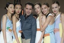 Spring / Summer 2015 Collection / Here you'll find the inspiration behind the looks, the activity behind the scenes, plus the complete show looks straight from the catwalk of Roland Mouret's #SS15 Collection. / by Roland Mouret