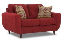 Couches, Chairs, Lounges, and Longues / Need seating for 4. Sofa + chair, or pair of loveseats? / by Tiddleywink Vintage