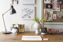 Desk Style / Add a little flare to your desk and office space!