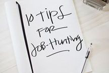 Job Search Tips / Searching for a job is hard, but take along great tips and you'll find your way.