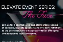 Elevate Events Series: The Face / A sophisticated evening of beauty and cocktails at the Shangi-La with our friends at Elevate Magazine!