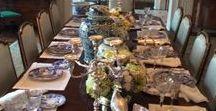 Tablescape / gedeckter Tisch