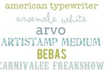 Papers, Fonts & Digitals