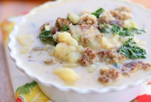 "Food ~ Soups, Stews & ""Stoups"""