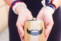 #LoveMyFlask / All of the latest designs from Liquid Courage Flasks!