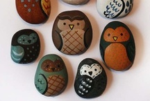 Rock on!!!! / Cool things to do with rocks, stones & pebbles!!!