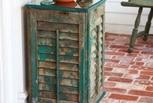Shutter Up! / New ideas for old shutters!