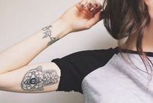 Cool Tattoos / i'm scared of needles but i can dream / by Monica Lynn