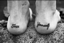 Could I be a canvas? / One day I will be brave enough to get the tattoo of my dreams, till then...