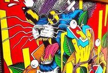 artsy / art, streetart, urban art, mostly in Berlin