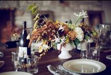Thanksgiving Table / Give thanks for the biggest meal of the year around a beautifully decorated table.