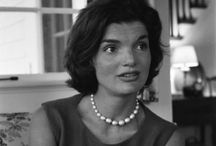 Jacqueline Kennedy Onassis / Stunning, outstanding example of a women I admire but might not have a quite understand. But I believe she had deep strength !?