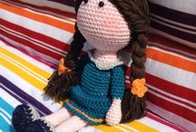 Dolls / Dolls, clothes, techniques to knit, sew and crochet.