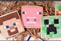 Minecraft / DIY Minecraft Crafts, Recipes, and Party Ideas