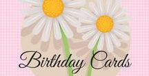 Birthday Cards /   Stampin' Up   Stampin' Up cards   card making ideas   papercrafts   birthday cards   birthday cards diy   birthday cards ideas   birthday cards homdemade   Everyone needs birthday cards!  Here are some ideas for you to create your own homemade birthday cards.