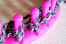 Loom knitting / Loom knitting