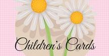 Children's Cards /   cards for kids   Children's cards   Stampin' Up   Stampin' Up cards   card making ideas   Handmade Greeting cards   papercrafting   Children's Cards handmade   Do you need cards for children?  It is sometimes hard to come up with an idea.  Here are some ideas for you.