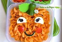 Bentos- Overall Cute / Super cute and helpful ideas for bento lunches and food on the go.