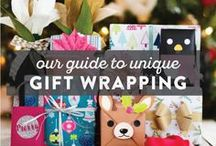 Printable Gift Wrap and Cards / DIY ideas using uncommon materials by handcrafted lifestyle expert Lia Griffith.